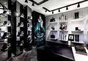 His first concept store in London