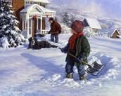 Два соседа и снег