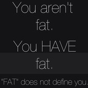 Don't let your weight define you.