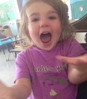 Excited Ellie