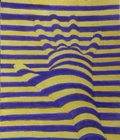 Op Art Hand - Joseph Lee