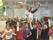 Junior Achievement with Mr. Reyes