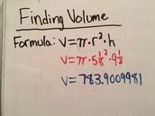 Volume of Bucket