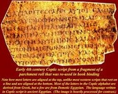 Coptic Document