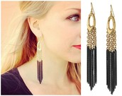 *SOLD EG* Lillith Fringe Earrings - $15