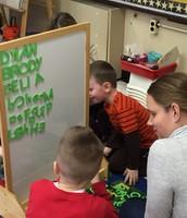 Fun centers - making names