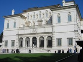 Borghese Gallery in Rome
