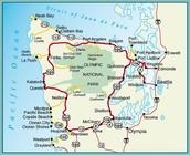 Colorful maps of peninsulas