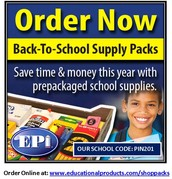Last Chance to Order School Supplies!