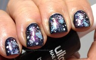 this galaxy nail polish will help you float in air