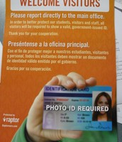 Have Your Photo ID Ready When You Walk In The Door