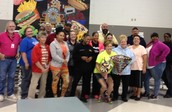 CMS Bus Drivers and BD of the Year - Kim Clay!