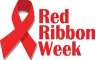 RED RIBBON WEEK MEANS DON'T DO DRUGS