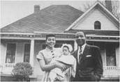 Owen, Minerva, and baby Sarah Breedlove
