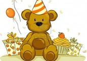 My birthday by Courtney Boner