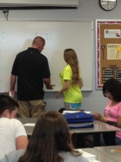 Great Things Happening in our Classrooms at South Middle School!