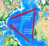 Map of the Middle Passage
