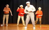 Old people love to dance