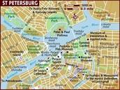 Map of St.Petersburg