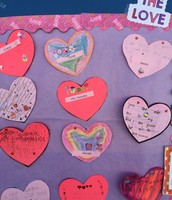Spreading the Love in 1st Grade!