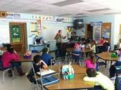 Nancy Paddock in Mrs. Johnson's Class