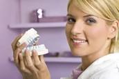 Make molds of teeth.