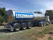 Fonterra's Legendairy Tanker, Stanhope