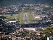 Honduras  runway as you land
