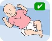 Safest way baby should sleep