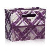 Fold N' File - Plum Plaid