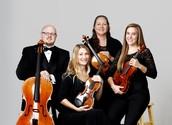 The Rockefeller String Quartet from the Arkansas Symphony