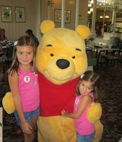 Lunch With Pooh Bear
