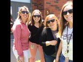 "My 4th grade team for the past 3 years. Jenny, Nicole, Jeny. ""Core Four"""