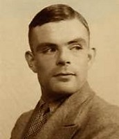 Alan turing looking young
