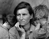 Woman with Children During the Depression