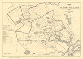 Map of Salem 1692