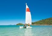 Sailboating!