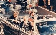 JFK in Motorcade