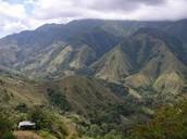 Indonesian Mountain Range