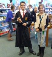 Harry Potter and Katniss