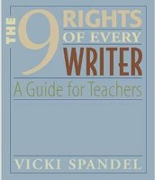 The right to be heard, to make writing process a part of their thinking.
