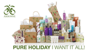 Holiday shopping is as easy as 1-2-3 with Arbonne: