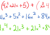 Binomial by a Trinomial