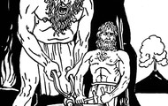 Hepaestus and a Cyclops