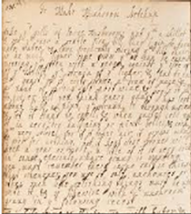Diary in the 18th Century.