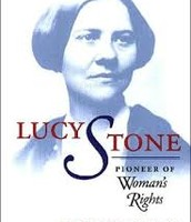 """Lucy Stone Book """"Pioneer of Woman's Rights"""