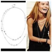 Alexia Necklace Silver- $30 (Retail $49)