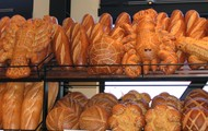 You can chose all different tips of bread, cookies, cake, brownies, and many more