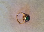 Suzanne cocktail ring size 8