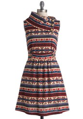 Coach Tour Dress in Stitch